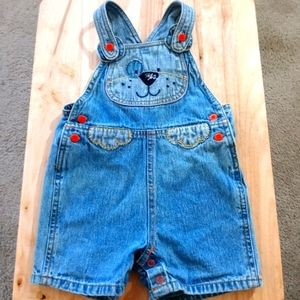 Baby Overall Jean Shorts WP1